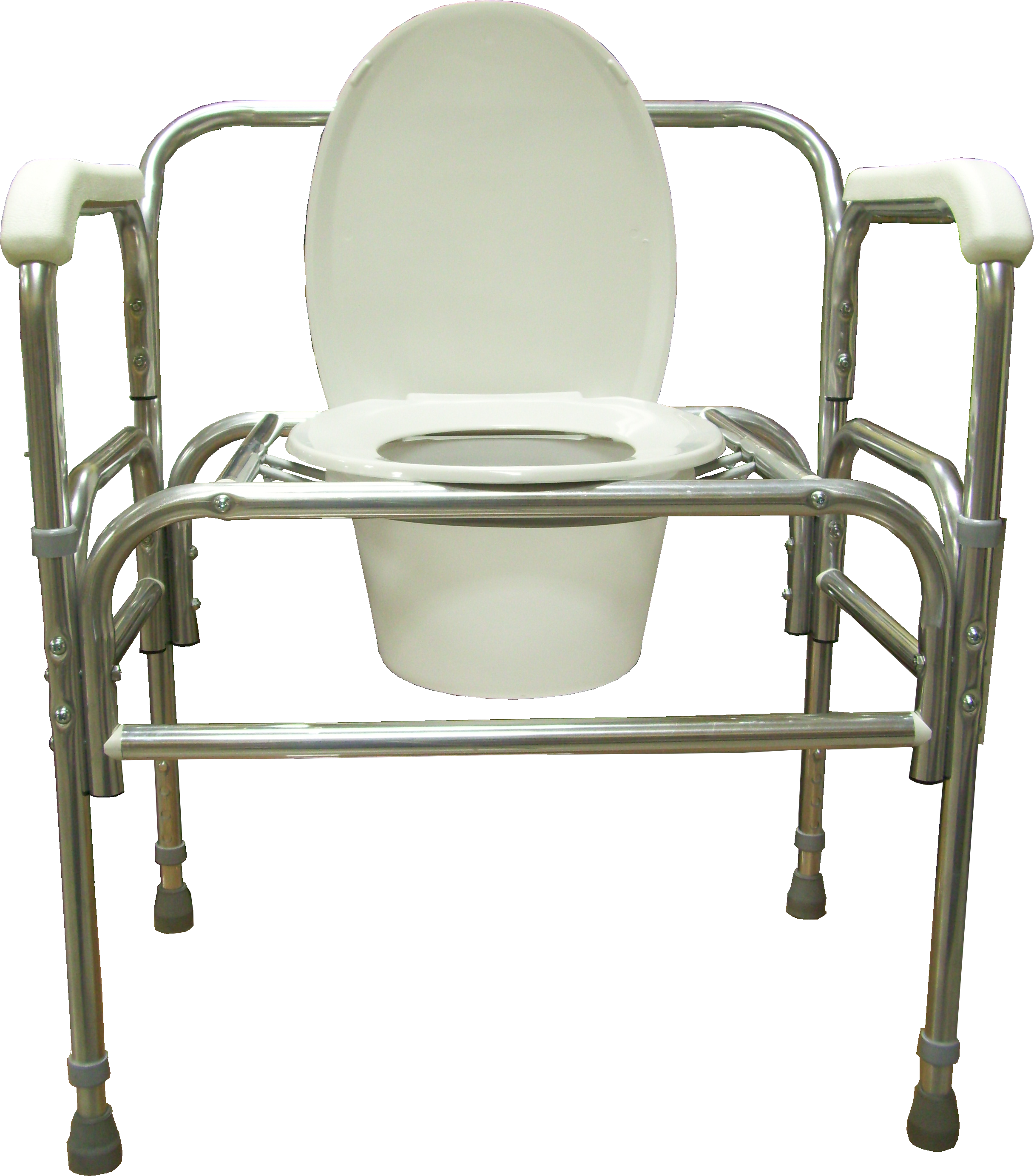 Bariatric Bedside Droparm Commode
