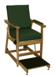 Model 711-7300 Hip Chair - Emerald Green