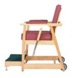 Model 711-7500 Hip Chair - Wine Rose