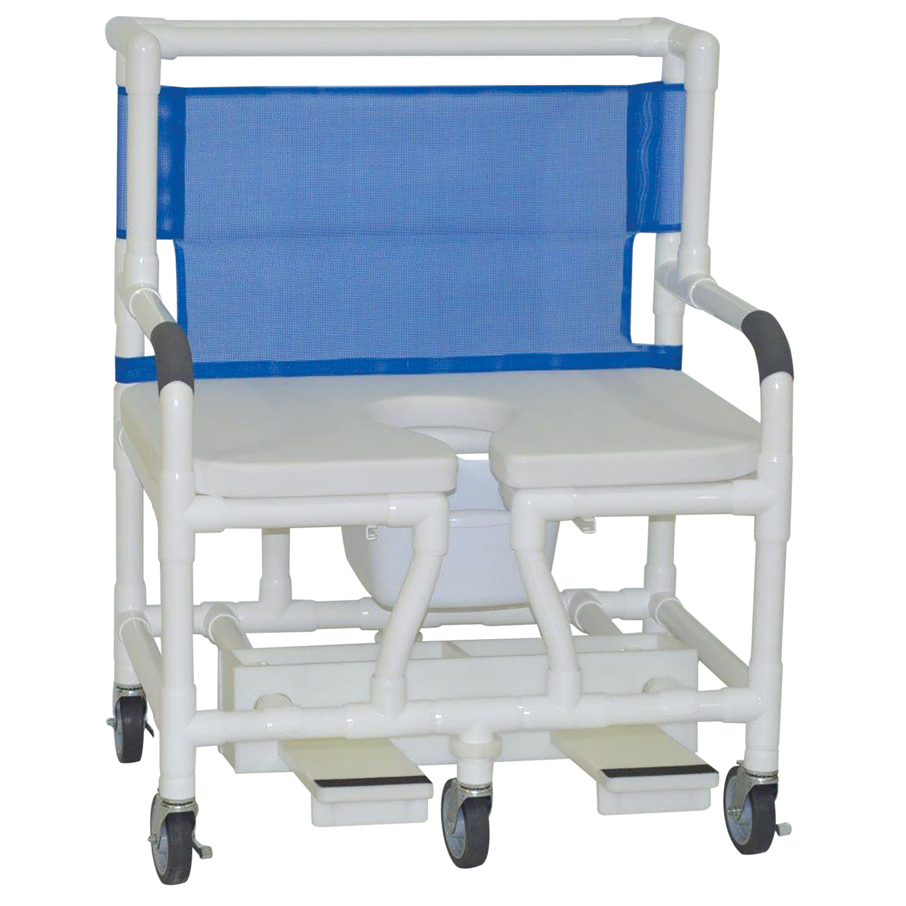 Model 131 5 Ssde Bariatric Shower Chair With Soft Seat Deluxe Elongated