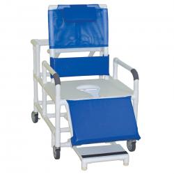 Model 196-26-BAR Bariatric Reclining Chair with Commode Seat