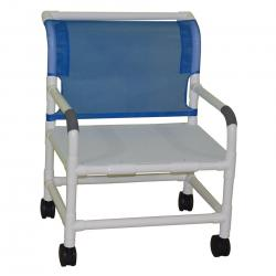 Model 126-5-WB-F Bariatric Shower Chair With Flat Seat