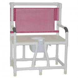 Model 130-C10 Bariatric Bedside Commode