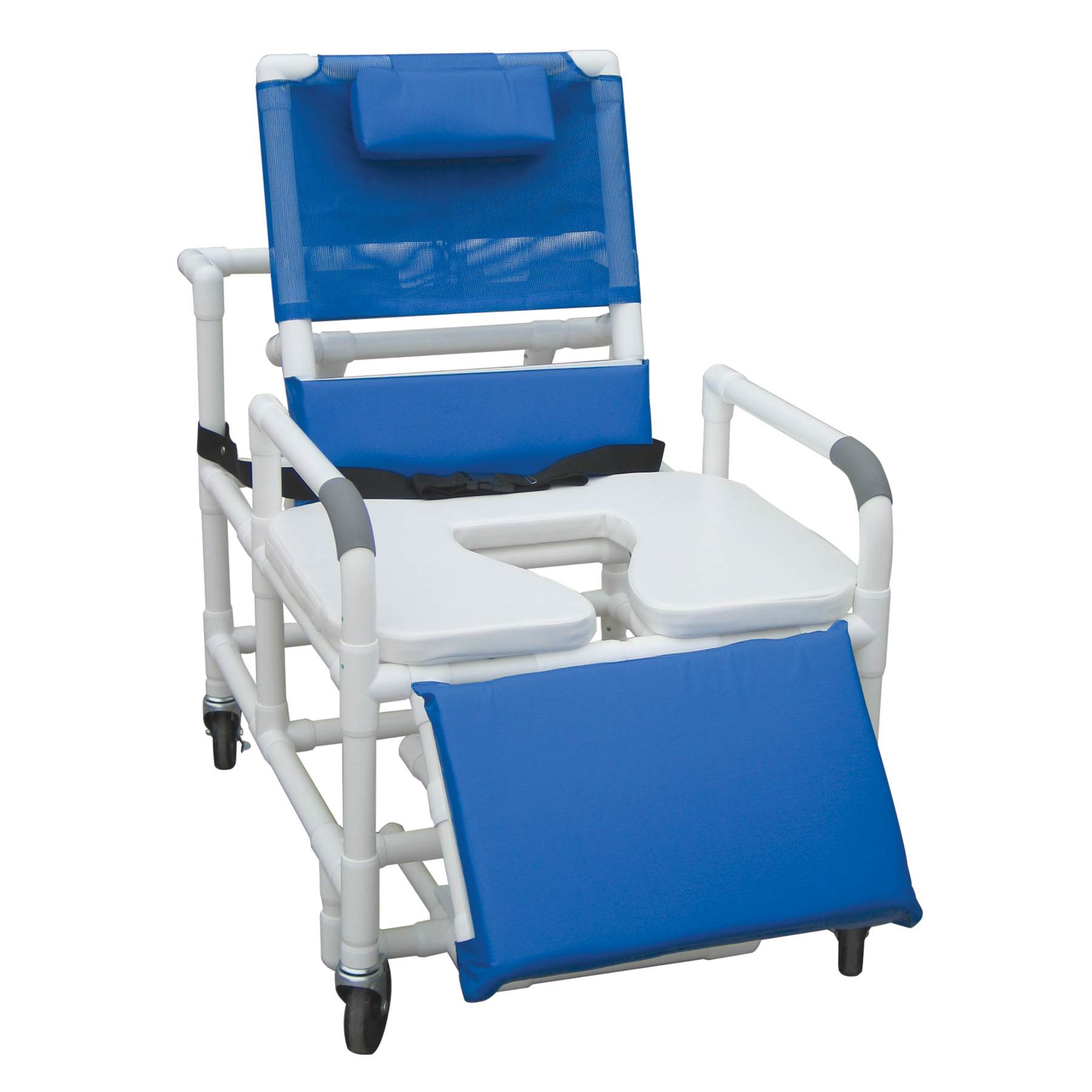 Bariatric Shower Chair with Dual Drop Arms