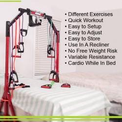 Ultimate Workout And Recovery Deluxe Rehab And Exercise Convenience Gym
