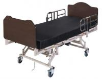 Maxi Rest 42 - Wood Grain Head and Foot Boards Capacity 800 lbs. Shown with optional mattress.