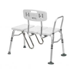 Model 12032 Transfer Bench with Curtain Guard Protection