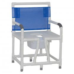 Model 124-C10 Bariatric Bedside Commode